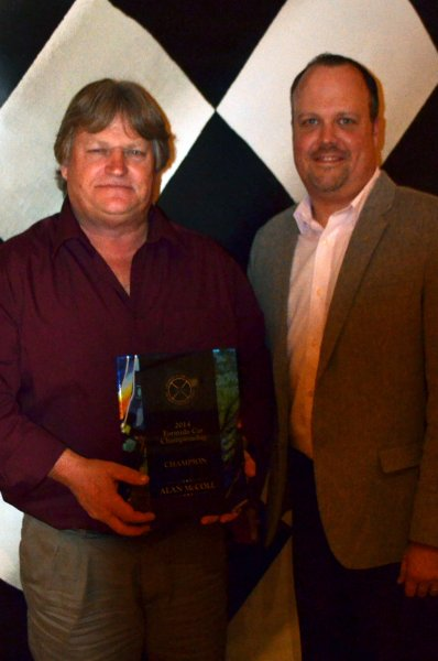 2014 Awards - Formula (Open Wheel) Champion - Alan McColl