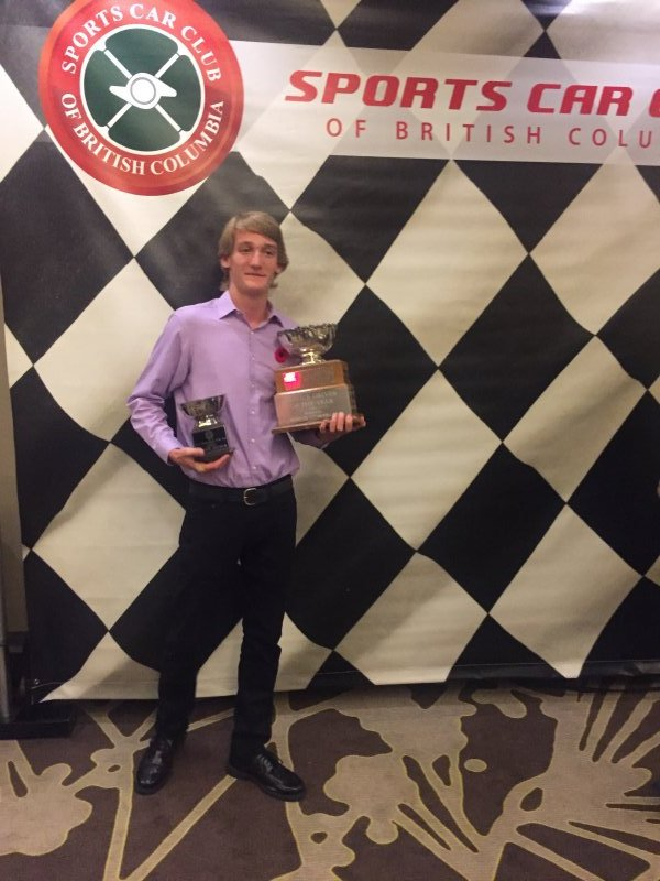 Robbie Arthur - Novice Driver of the Year